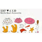 LEGO Belville Beach Accessories Set 5387