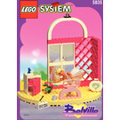 LEGO Belville Dance Studio Set 5835 Instructions