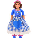LEGO Belville Female with Mouse in Pocket Minifigure