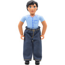 LEGO Belville Male with Blue shirt Minifigure