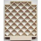 LEGO Belville Square Lattice Wall 1 x 12 x 12 with upper Corner Cutouts (6165)