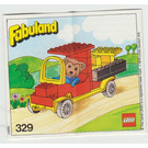 LEGO Bernard Bear and his Delivery Lorry Set 329-2 Instructions