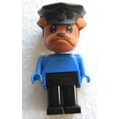 LEGO Bertie Bulldog with Police Hat Fabuland Figure