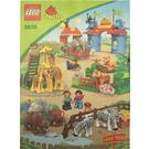 LEGO Big City Zoo Set 5635 Instructions
