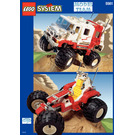LEGO Big Foot 4 x 4 Set 5561 Instructions