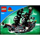 LEGO Big Pirate Ship Set 7880 Instructions
