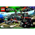 LEGO Big Rig Snow Getaway Set 79116 Instructions