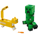 LEGO BigFig Creeper and Ocelot Set 21156