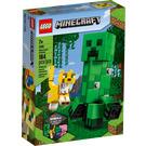 LEGO BigFig Creeper and Ocelot Set 21156 Packaging