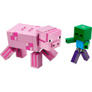LEGO BigFig Pig with Baby Zombie Set 21157