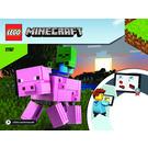 LEGO BigFig Pig with Baby Zombie Set 21157 Instructions