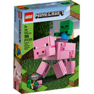 LEGO BigFig Pig with Baby Zombie Set 21157 Packaging