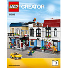 LEGO Bike Shop & Cafe Set 31026 Instructions