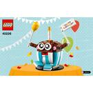 LEGO Birthday Buddy Set 40226 Instructions