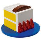 LEGO Birthday Cake Set with Blue Base 40048-1