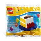 LEGO Birthday Cake Set with Blue Base 40048-1 Packaging