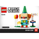 LEGO Birthday Clown Set 40348 Instructions