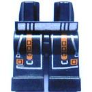 LEGO Black Alpha Team Legs