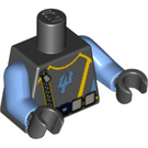 LEGO Black Aquaraider Trident Torso (76382)