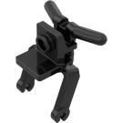 LEGO Black Bike 3 Wheel Motorcycle Forks (30189)
