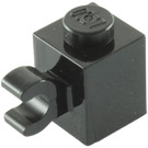 LEGO Black Brick 1 x 1 with Horizontal Clip (60476)