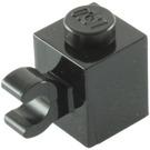 LEGO Black Brick 1 x 1 with Horizontal Clip (60476 / 65459)