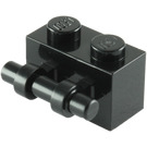 LEGO Black Brick 1 x 2 with Handle (30236)