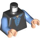 LEGO Black Chandler Bing Minifig Torso (76382)