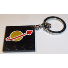 LEGO Classic Space Logo Tile Keychain (4645246)