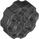 LEGO Black Connector Round with Pin and Axle Holes (31511)
