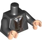 LEGO Black Credence Barebone Minifig Torso (88585)