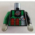 LEGO Black Crunch Torso