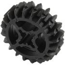 LEGO Black Double Bevel Gear with 20 Teeth Unreinforced (32269)