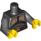 LEGO Black Evil Dwarf Torso (88585)