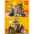LEGO Black Falcon's Fortress Set 6074 Instructions