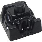 LEGO Black Figurebrick 2 x 2 with Neck (41850)