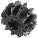LEGO Black Gear with 12 Teeth and Double Bevel (32270)