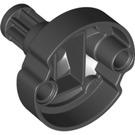 LEGO Black Gearwheel Z8 with 4,85 Hole (18590)