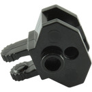 LEGO Black Hinge 1 x 2 Locking with Towball Socket (30396 / 51482)