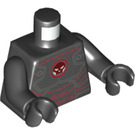LEGO Black Iron Skull Minifig Torso (76382)