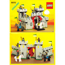LEGO Black Knight's Castle Set 6073 Instructions