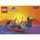 LEGO Black Knights Boat Set 1547