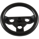 LEGO Black Large Steering Wheel (2741)