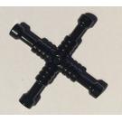 LEGO Black Lug Wrench, 4-Way (11402)