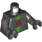 LEGO Black MechaByter (InfectoByter) Minifig Torso (76382)