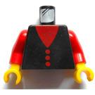 LEGO Black Minifig Torso