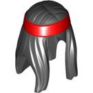 LEGO Black Minifigure Hair (34686)