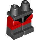 LEGO Black Minifigure Hips and Legs with Decoration (38448)