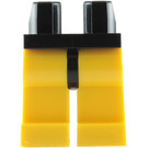 LEGO Black Minifigure Hips with Yellow Legs (73200 / 88584)