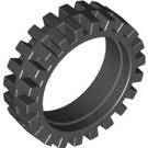 LEGO Black Narrow Tire Ø24 x 7mm (61254)